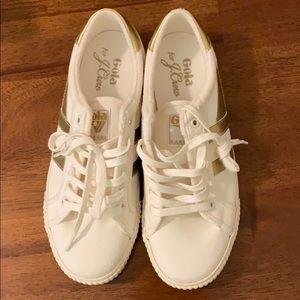 Gola for J Crew Mark Cox tennis sneakers